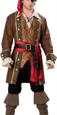 InCharacter Costumes Men's Captain Skullduggery