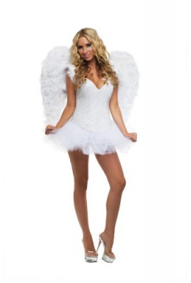 Starline Signature White Angel Costume