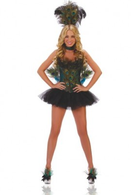 Starline Women's Peacock Costume Set