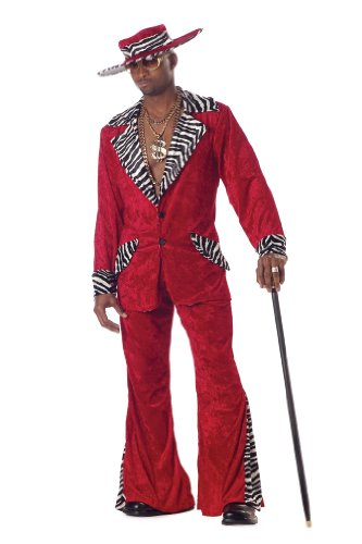California Costumes Men's Pimp Costume
