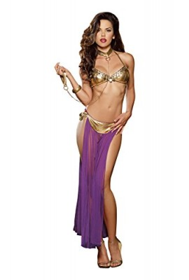 Dreamgirl Women's Harem Slave Set